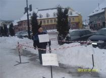 Protest anti FC Cisnadie