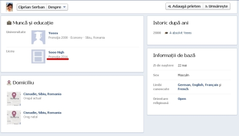 Profil de FB Sefu PSD
