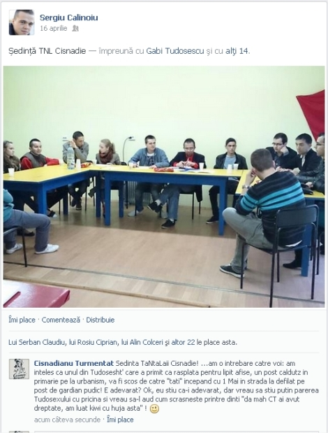 Sedinta TNL Cisnadie