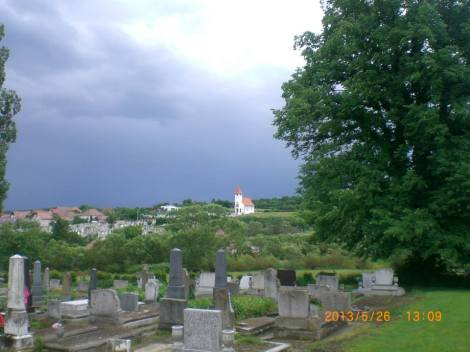 Capela hujiana vazuta din Ort der ruhe