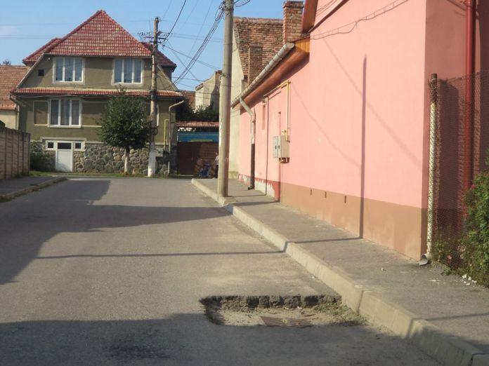 Strada Argintului  interzis biciclistilor