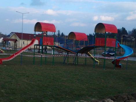 Tobogan nou in parc