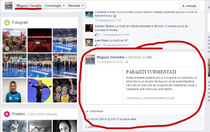 Magura Cisnadie promoveaza bloguri agramate